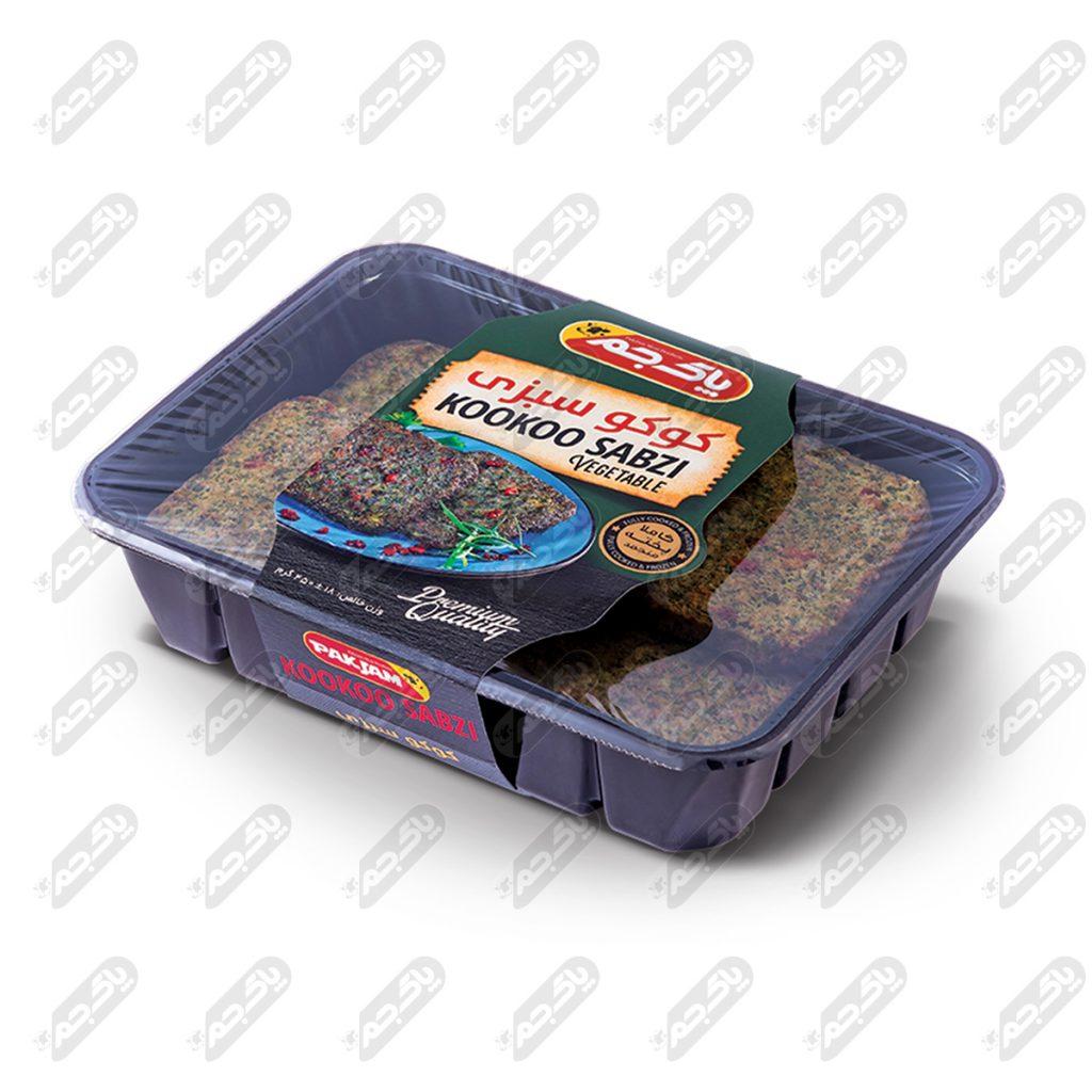 کوکو سبزی ۴۵۰ گرمی